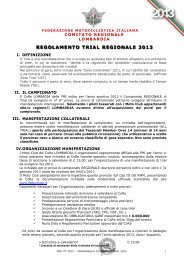 FEDERAZIONE MOTOCICLISTICA ITALIANA - FMI Lombardia