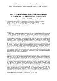 analisi numerica vibro-acustica e correlazione sperimentale per un ...