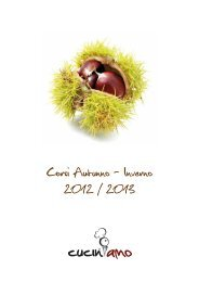 Corsi Autunno - Inverno 2012 / 2013 - Cuciniamo - corsi di cucina
