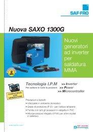 Nuova SAXO 1300G - Fro