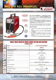 MIG 176 ADJ-ITEN.pdf - Elettro CF