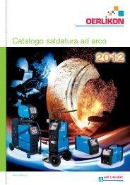Catalogo saldatrici 2012 - ETC Oerlikon