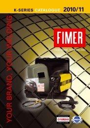 K-SERIES CATALOGUE 2010/11 - FIMER - welding machines