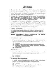 ANEXO TÉCNICO 8 AERONAVEGABILIDAD A. El presente Anexo ...