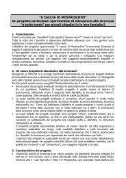 Presentazione progetto Mostrischio - Istituto Comprensivo