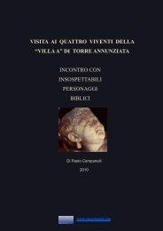 """VISITA AI QUATTRO VIVENTI DELLA """"VILLA A"""" DI ... - Vesuvioweb"""
