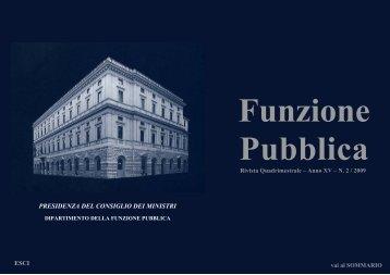 Rivista n.2 consultabile - Dipartimento Funzione Pubblica