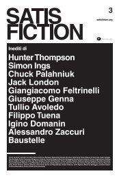 Linnio Accoroni (L'Indice dei libri), Marco Aime (La ... - Satisfiction