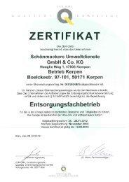 Betrieb Kerpen PDF 5172,6 kB - Schönmackers Umweltdienste ...