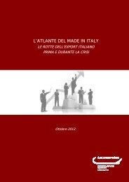 L'ATLANTE DEL MADE IN ITALY