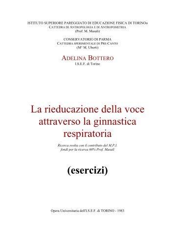 esercizi - Romolo Calandruccio