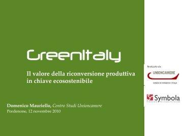 Intervento Domenico Mauriello - Symbola