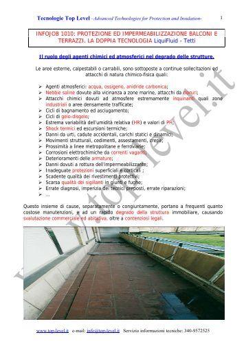 Impermeabilizzazione di terrazze e balconi mapei - Impermeabilizzazione balconi ...