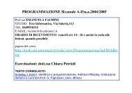 Programma di Programmazione II aa 2006/2007 - TWiki