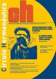 Número 8 de la Revista CH - Círculo Hermenéutico - SEYS.