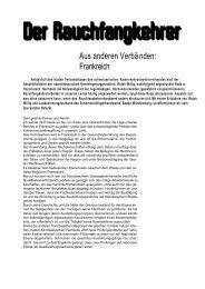 Bericht lesen - Schornsteinfeger Innung Hamburg