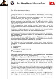 Zum Glück gibt's den Schornsteinfeger - Schornsteinfeger Innung ...