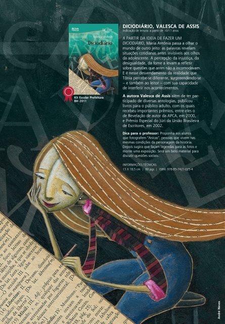 Artes e Ofícios Editora | Catálogo Infantil e Juvenil, 2012 / 2013