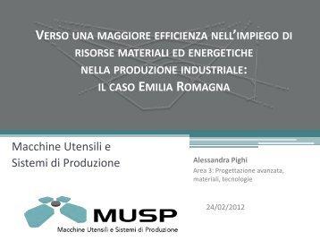Alessandra Pighi - Musp