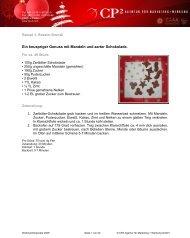 Ein knuspriger Genuss mit Mandeln und zarter Schokolade. - CP2