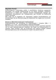 Laborleistungen Allgemeiner Hinweis ... - Schottdorf