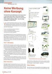 RADMARKT 5-09 Keine Werbung ohne Konzept