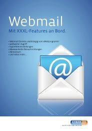 Webmail Dokumentation - Cyber24.de
