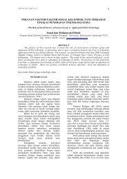 jurnal vol 4 no 1 midi - jurnal ekonomi pertanian dan pembangunan