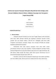 Catatan atas Laporan Keuangan Kabupaten Boyolali dan Kota ...