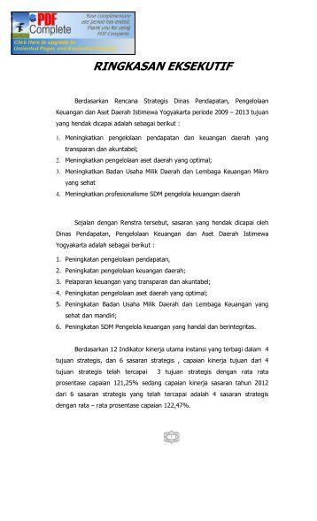 Sambutan - DPPKA Provinsi DIY - Yogyakarta