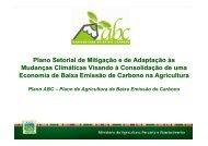 Apresentação ABC - Ministério da Agricultura, Pecuária e ...
