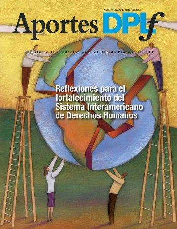 Reflexiones para el fortalecimiento del Sistema Interamericano de ...