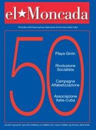 copertina colori giusti - Associazione di amicizia Italia-Cuba