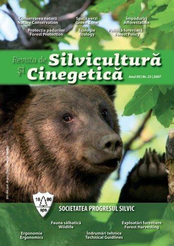 Revista revistelor - Progresul Silvic