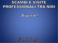 VISITE AI NIDI - presentazione power point - Città di Torino