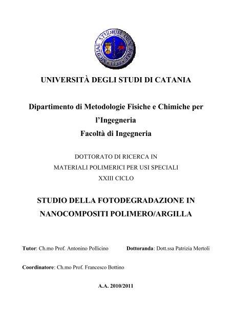 Visualizzaapri Archivia Università Degli Studi Di Catania