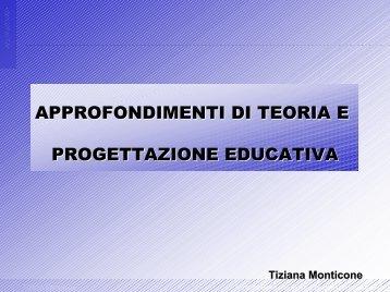 LA COMPETENZA PEDAGOGICA - Interfacoltà Educazione ...