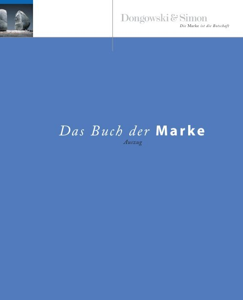 Das Buch der Marke - Dongowski & Simon