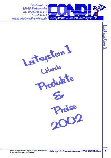 Leitsystem 1.p65 - Condi-Werbung