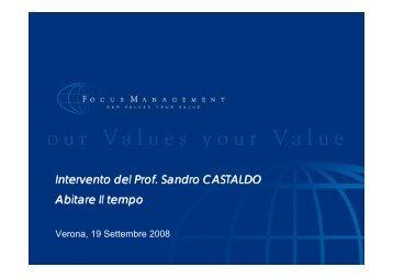PRESENTAZIONE SANDRO CASTALDO - 01Net
