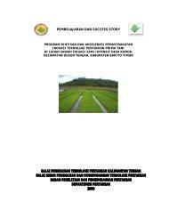 Baca selengkapnya (.pdf) - Balai Pengkajian Teknologi Pertanian ...
