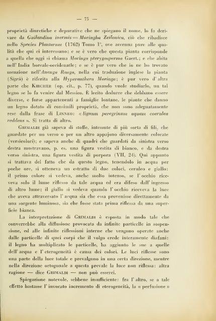 Grimaldi e la rifrazione