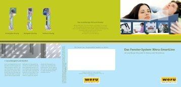 Das Fenster-System Weru-SmartLine