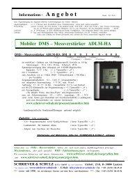 ADLM-HA - SCHRIEVER & SCHULZ & Co. GmbH