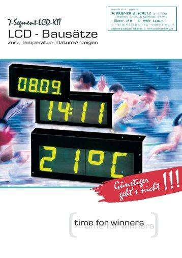 Günstiger geht's nicht - SCHRIEVER & SCHULZ & Co. GmbH