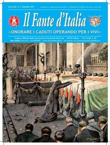 Il Fante d'Italia - Associazione Nazionale del Fante