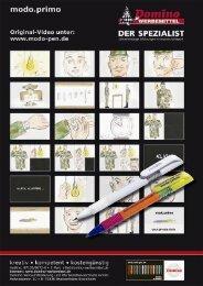 Starterpaket Kugelschreiber modo. primo ... - Domino Werbemittel