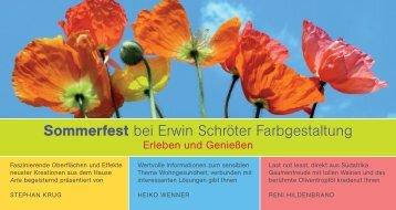 Die Einladungskarte als PDF - Erwin Schroeter Farbgestaltung ...