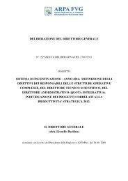Obiettivi 2012 direttori strutture complesse - DA - DTS ... - Arpa