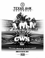 (College World Series) in PDF Format - Aggie Athletics